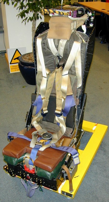 This seat is Seth Coleu0027s second ejection seat. It currently is his chair at his office. He reports that it is  super comfortable! & Sea Vixen Mk. 4DSA Seat; The Ejection Site