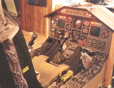 The ejection site homebuilt sim featuring f 100 ejection seat for Build your own house simulator