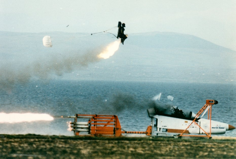 The Ejection Site: Mk US16 Ejection Seat Test