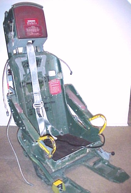 Lockheed T 33 Ejection Seat The Ejection Site