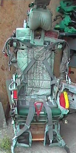 The Ejection Site Sk 1 Mig 21 Canopy Capsule Seat