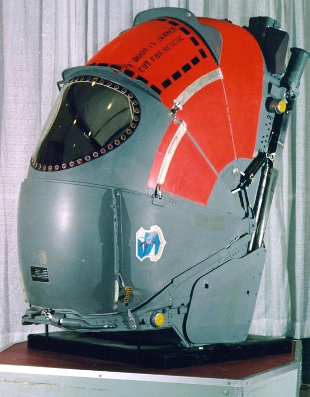 B-58 hustler pod